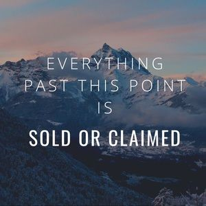 Sold past this point